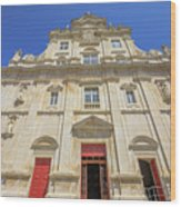 New Cathedral Of Coimbra Wood Print