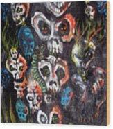 New Dark Wood Print