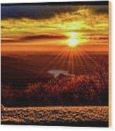 New  Day  Dawns Wood Print