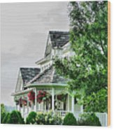 New England Beauty Wood Print
