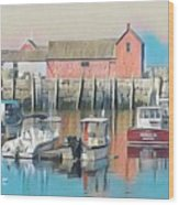 Rockport, Massachusetts Wood Print
