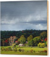 New England Countryside  Wood Print