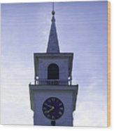 New England Steeple Wood Print
