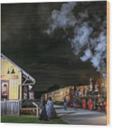 New Freedom Pa Steam Train Wood Print
