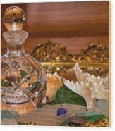 New Glass And Seaglass Wood Print