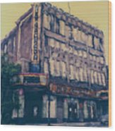 New Granada Theatre Wood Print