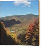 New Hampshire In The Fall 3 Wood Print