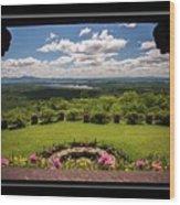 New Hampshire Lakes Region Wood Print