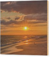New Jersey Has The Best Sunsets - Cape May Wood Print
