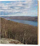 New Jersey Mountaintop View Wood Print
