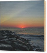 New Jersey Shore - Townsends Inlet Wood Print