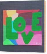 New Love Generation Wood Print