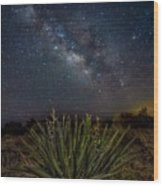 New Mexican Night Wood Print