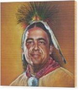 New Mexico Apache Dancer Wood Print