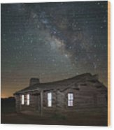 New Mexico Night Sky Wood Print