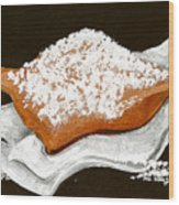 New Orleans Beignet Wood Print