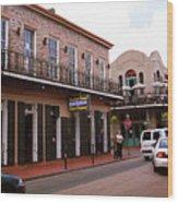 New Orleans Bourbon Street 2004 #43 Wood Print