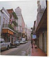 New Orleans Bourbon Street 2004 #45 Wood Print