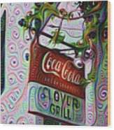 New Orleans - Clover Grill Wood Print