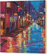 New Orleans Magic Wood Print