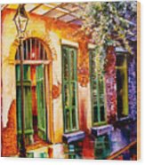 New Orleans Mystery Wood Print