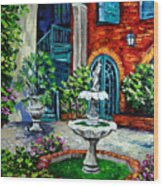 New Orleans Painting Brulatour Got A Penny Wood Print