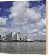 New Orleans Panoramic Wood Print