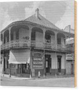 New Orleans Pharmacy Wood Print