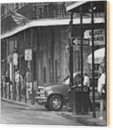 New Orleans Street Photography 2 Wood Print