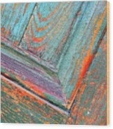 New Orleans Textures Wood Print