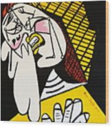 New Picasso The Weeper 2 Wood Print