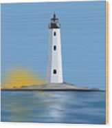 New Point Comfort Light Wood Print