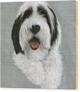 New Pup Wood Print