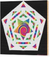 New Star 2a Wood Print by Eric Edelman