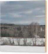 New Sweden Maine Wood Print
