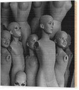 New World Order Wood Print by Arni Katz