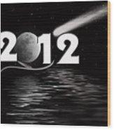 New Year Reflection Wood Print
