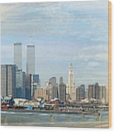 New York 1998 Wood Print