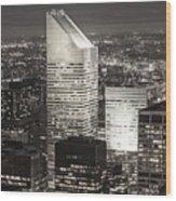 New York Citigroup Center  Wood Print