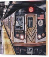 New York City Charles Street Subway Station Wood Print