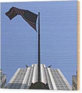New York City - Chrysler Building 003 Wood Print