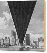 New York City - Queensboro Bridge Wood Print