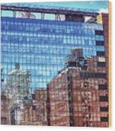 New York City Skyscraper Art 4 Wood Print