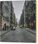 New York City - Soho 003 Wood Print