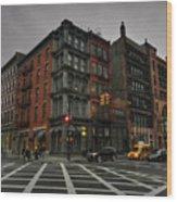 New York City - Soho 006 Wood Print