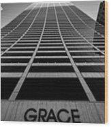 New York City - W. R. Grace Building Wood Print