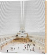 New York City World Trade Center Oculus Wood Print