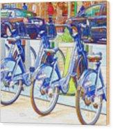 New York Citybike 2 Wood Print