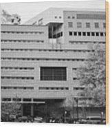 New York County Family Courthouse City Usa Wood Print