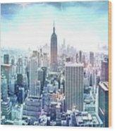 New York Fairytales Wood Print